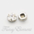 Professional Swarovski Elements 12mm Clear(001) Round Sew On Stone