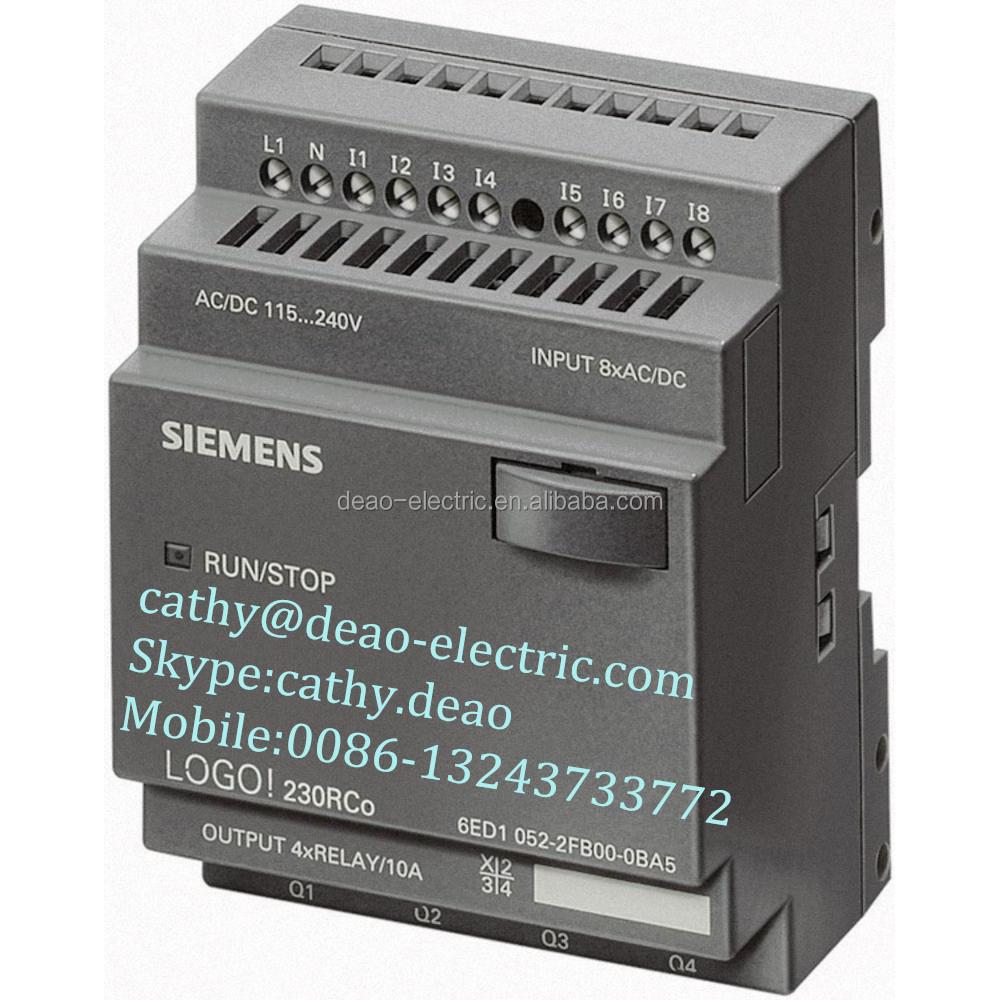 Siemens Logo! 6ed1 052-1fb00-0ba6 230rc Siemens Plc Siemens Logic Module -  Buy Siemens Logic Module,Logo Plc,Siemens Plc Product on Alibaba.com