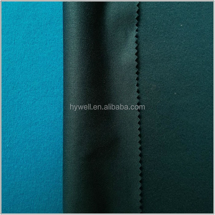 100 Polyester Tricot brushed fabric Mercerized velvet