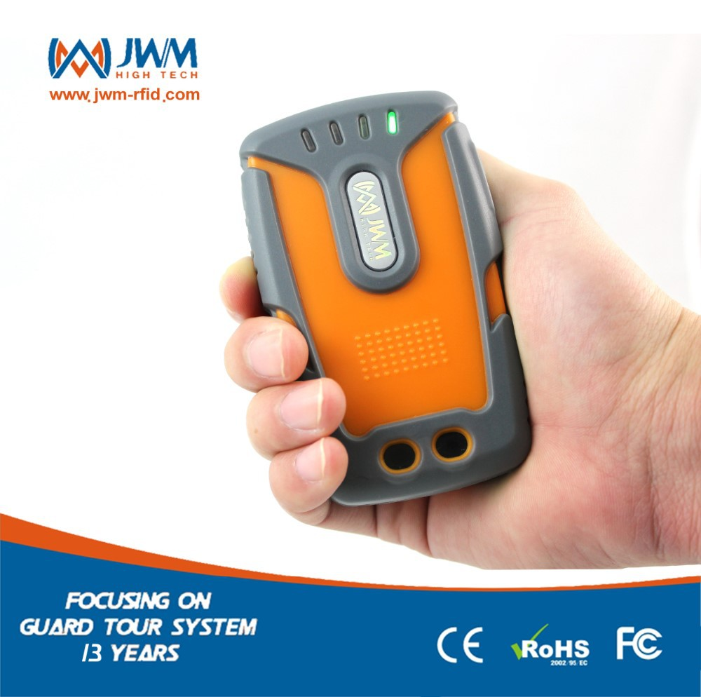WM-5000LT GPRS real time touch guard tour wand/watchman clock device/guard attendance system