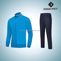 Factory wholesale polyester cheap price nice design tracksuit for men