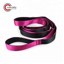 Individuelles Logo <span class=keywords><strong>Yoga</strong></span> Workout Ballett Nylon <span class=keywords><strong>Yoga</strong></span> Stretching Strap Band Mit Loops