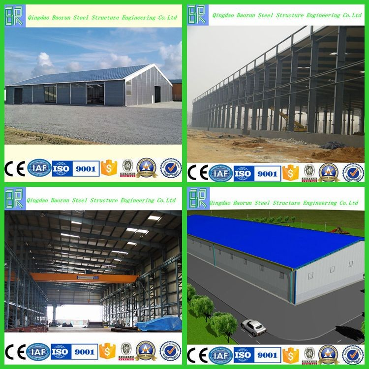 Prefabricated steel building industrial shed designs car workshop