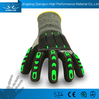 Multipurpose impact resistant cut resistant work safety gloves