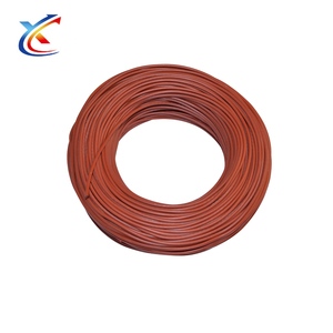 carbon fiber conductor silicone rubber dc heating wire