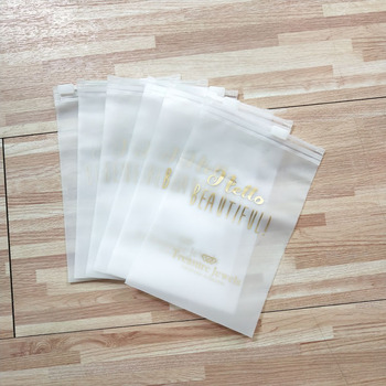 Eco-friendly Custom Printed Clear Zip Lock Small Plastic packing Bags For Jewelry