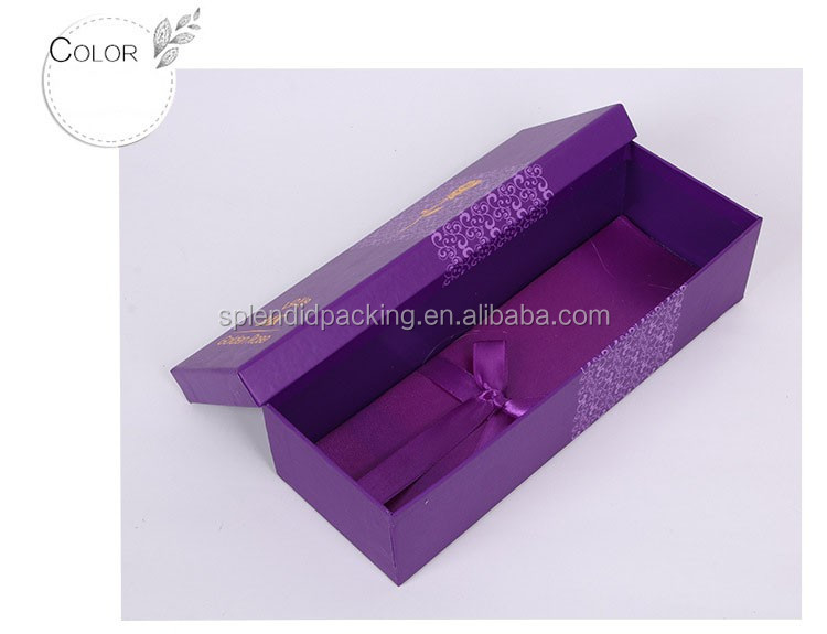 Fashion Design Cardboard Corrugated Gift Box Rectangle Paper Box For Flowers