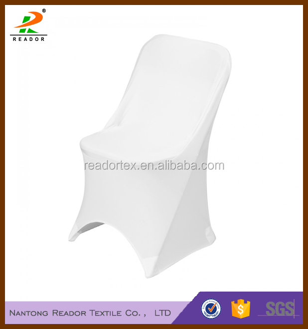 white spandex folding chair covers, white lycra folding chair covers, white stretch folding chair covers for weddings, parties