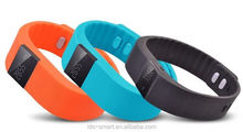 Activity tracker waterproof smart wristband for step distance calorie counter