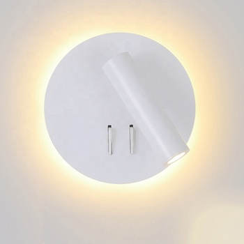 Factory Price top grade customization  villa hotel bedside wall sconces spotlight lighting with usb CE cUL