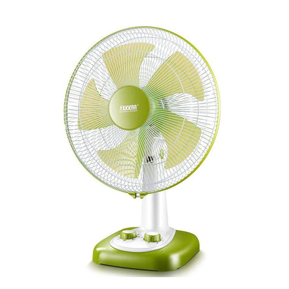 FH Table Fan Household Desktop Small Electric Fan Timing Shaking His Head