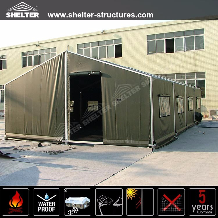 Shelter Green Pvc Fabric Mobile Field Hospital Army Tent