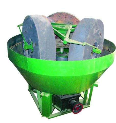 gold grinding grinder machine wet pan mill