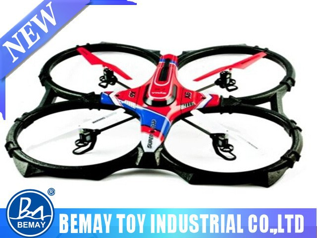 2.4G professional drone 4-axis rc quadcopter Foam X6 rc plane 4 Channel rc quadcopter W/gyro