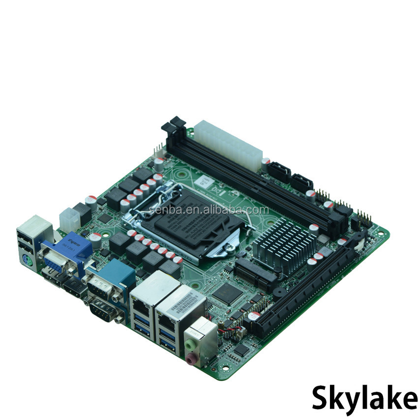 hdmi+DP skylake platform motherboard with integrated graphics support DirectX12 OpenGL4.4 display