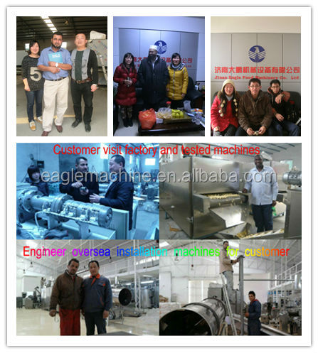 pillow shape chocolate/cream/peanut butter core filling snack machine processing equipment