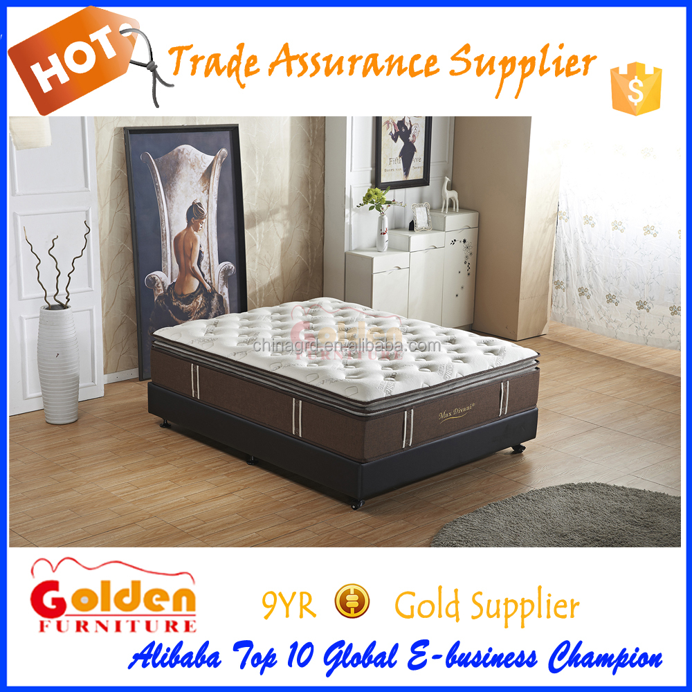 2017 New design, high quality hotel/ home use memory and latex mattress MF17-4#