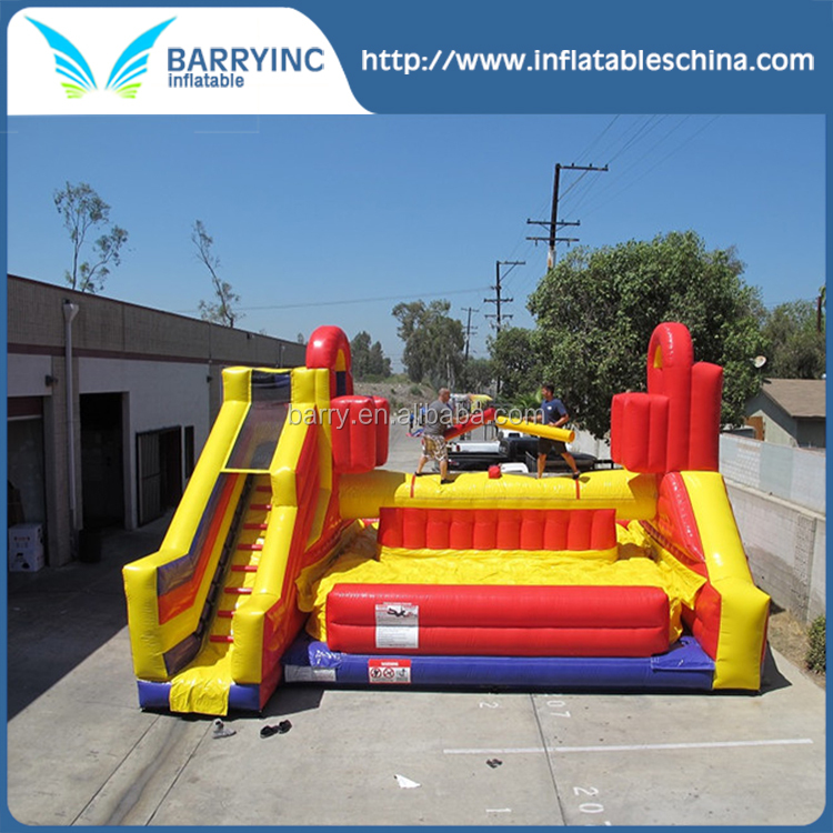 Guangzhou inflatables commercial inflatable jousting arena battle zone sport game equipment for sale BY-IG-003