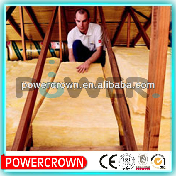 Competitive price R3.5 glass wool insulation batts