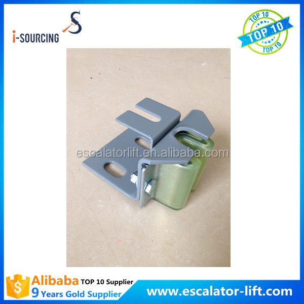Elevator counter weight hollow guide shoe for elevator