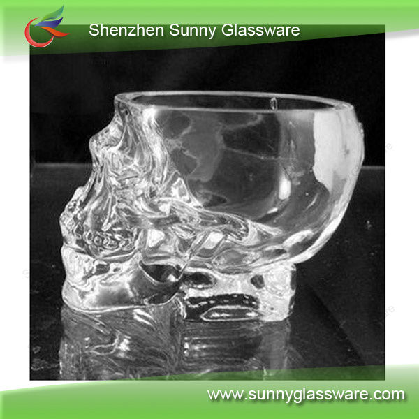 Glass Shot / Skull Shaped