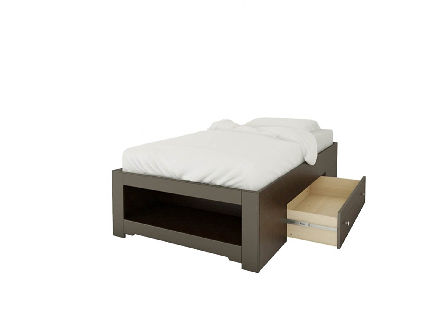 Haxby Twin Size Storage Bed - Espresso