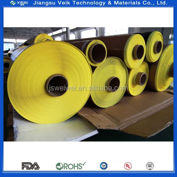 PTFE Teflon glass cloth tape high insulation tape with silicone adhesive