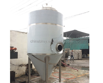 Stainless Steel Cylindrical Conical Fermenter Beer Brewing Equipment