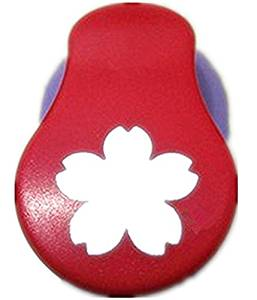 TECH-P Creative Life Shape Size 1.5- Inch(3cm-3.7cm) Multi-pattern Hand Press Album Cards Paper Craft Punch,card Scrapbooking Engraving Kid Cut DIY Handmade Hole Puncher,Paper Craft Punch. (Flower)