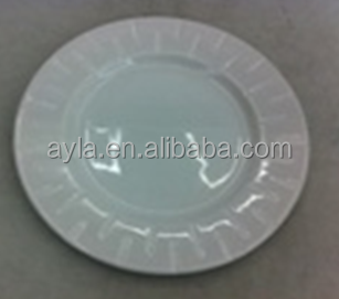 HOT SELLING WHITE CERAMIC PLATE