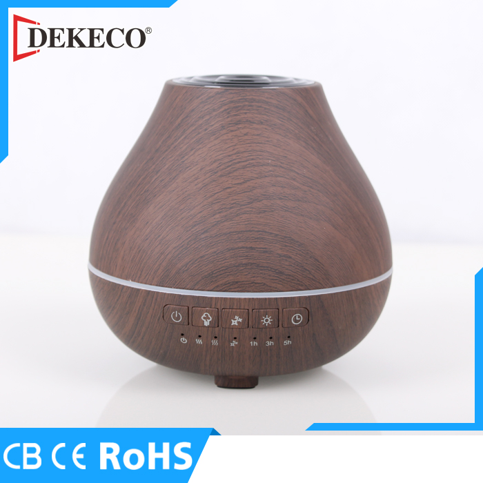 Ultrasonic Natural Wooden Essential Oil Diffuser with Bluetooth Music Mist Oil Difuser