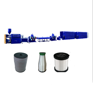 electric fence poly tape/ polywire/ rope pet pp pe monofilament extruding extrusion machine/ yarn production line