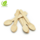 Eco-friendly Biodegradable Wooden Disposable Cutlery Set spoon fork and knife