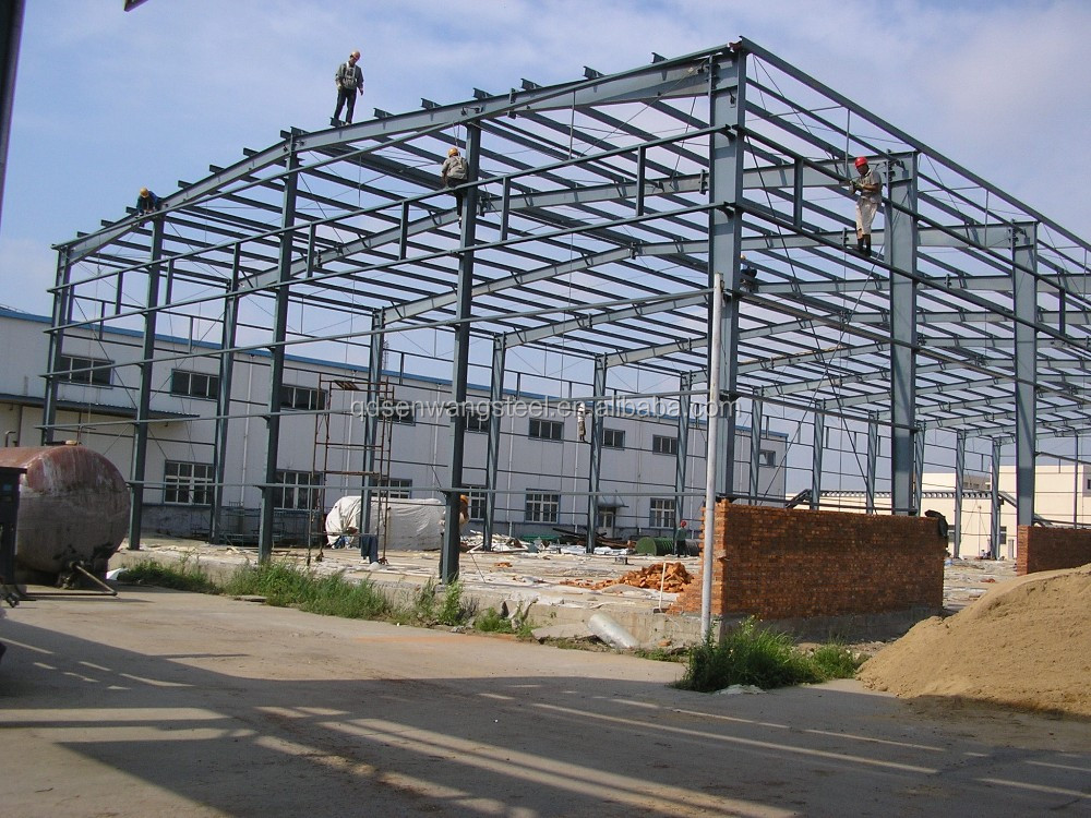Alibaba China Building Shed Prefabricated Structure Steel