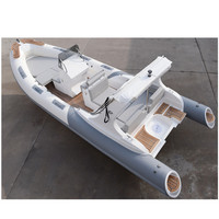 Liya fiberglass center console boat 6.6m rib with engine