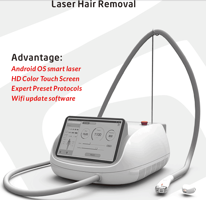No Bar Hair Removal Laser Machine/808nm Diode Fiber Coupled Laser Epilation  - Buy No Bar Hair Removal Laser Machine/ 808nm Diode Fiber Coupled Laser