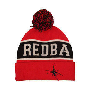6728a6440c4 Hot Sale Custom Red Knit Beanies Hats Pom Pom Winter Hat Beanie for Girls  Women