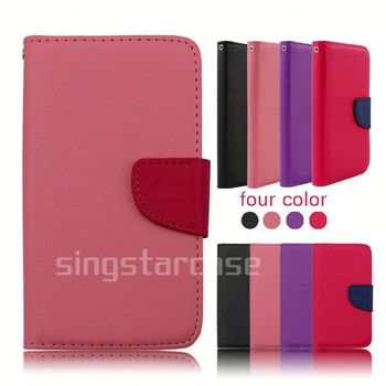 For Nokia Lumia 725 Case Cover,Leather Phone Cover Case For Nokia ...