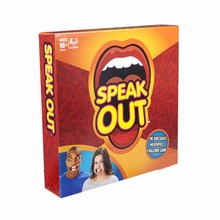 2016 hot sale Halloween speak out challenge your mouth board game