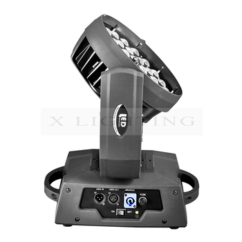 Professional 36x18w led moving head wash zoom rgbwa