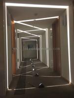 IP65 aluminum body adjustable outdoor led wall light morden wall mounted light