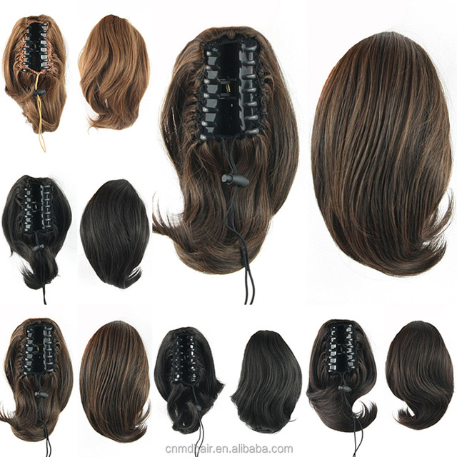 Short Hair Extensions Ponytail Source Quality Short Hair Extensions