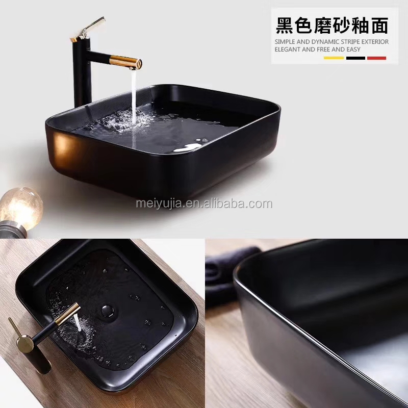 New color hand art basin matt color washing basin