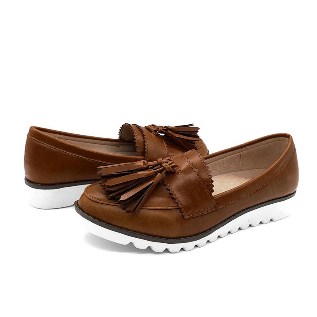 Rétro Plate Pois Bouche Appartements Peu Profonde Tête Forme Bateau Ronde Femmes Casual Buty Chaussures Mocassins N0wnm8