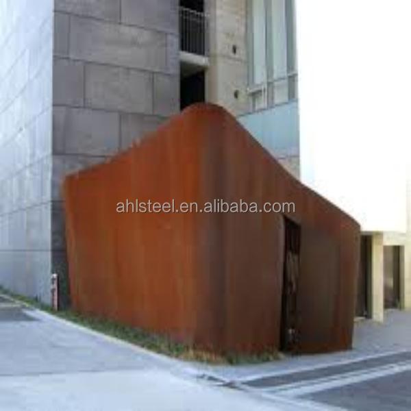 Corten Steel Building Exterior Facade Panel Wall Steel Panel Buy