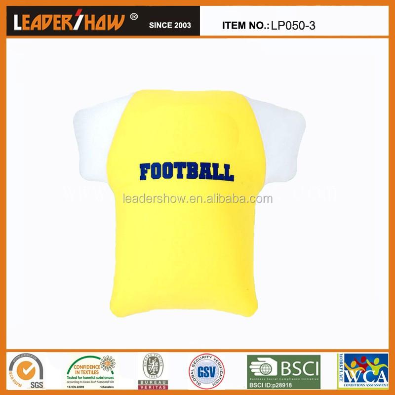 Customized Funny T-shirt Shape Full Color Imprint Football Fan ...
