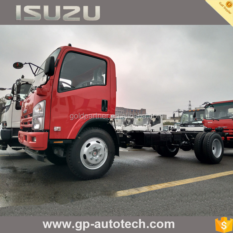 Isuzu ELF 700P commercial vehicle cargo truck chassis