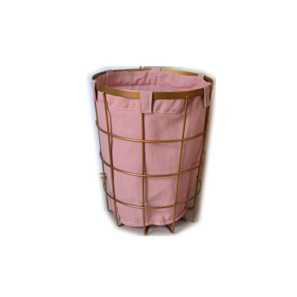 Simple Wrought Iron Tabletop Metal Newspaper And Debris Decoration Storage Basket Hangable Portable Rack Home Improvement Bathroom Fixtures