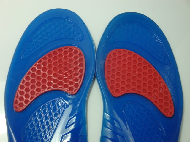 PP shell Gel Silicone arch support Shoes Insole