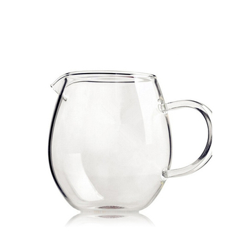 500ML new products hand made borosilicate glass water jug